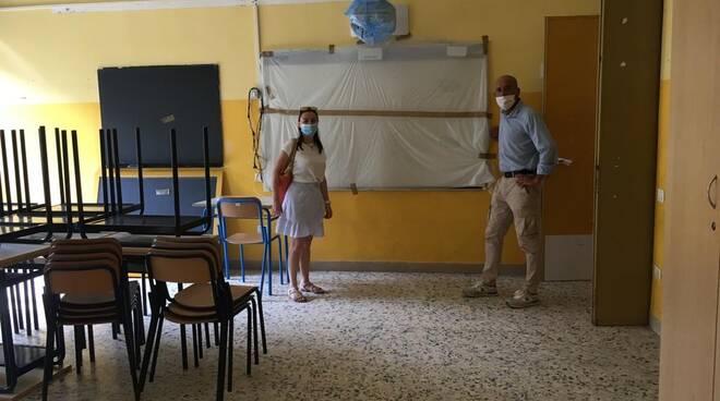 edilizia scolastica interventi Covid scuole Porcari