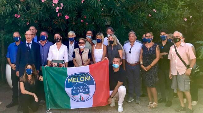 elezioni Viareggio Fratelli d'Italia candidati
