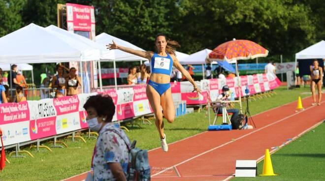 Elisa Naldi salto in lungo Atletica Virtus Lucca
