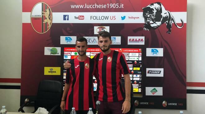 Filippo Scalzi e Aniello Panariello acquisti Lucchese serie C