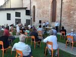 Francesca Fazzi presentazione ufficiale candidatura Pecora Nera giardino Osservanti