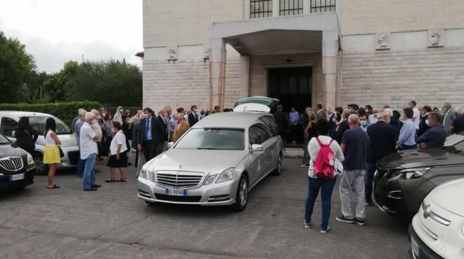 funerali di Giulio Lazzarini