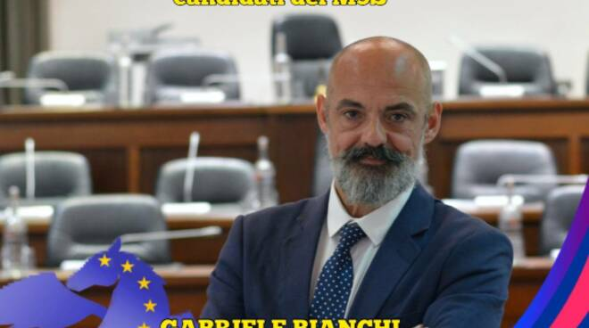 Gabriele Bianchi candidato Lucca con Svolta!