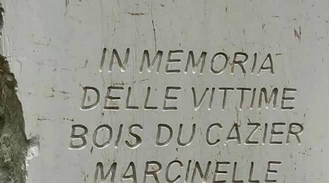 giardini di Vicopisano intitolati alle vittime del Bois du Cazier Marcinelle