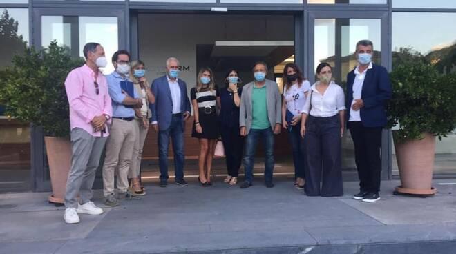 Idrotherm Castelnuovo Giani visita candidati