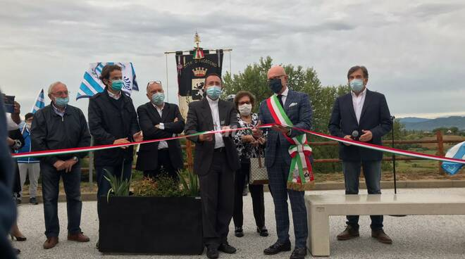inaugurata piazza don mainardi a torre di fucecchio 31 agosto 2020