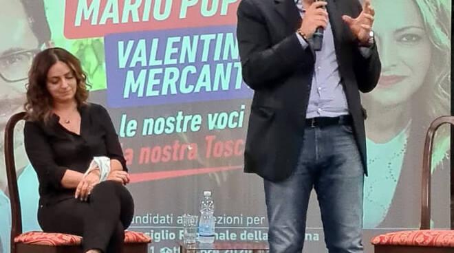 Lancio campagna elettorale Mercanti e Puppa a Castelnuovo
