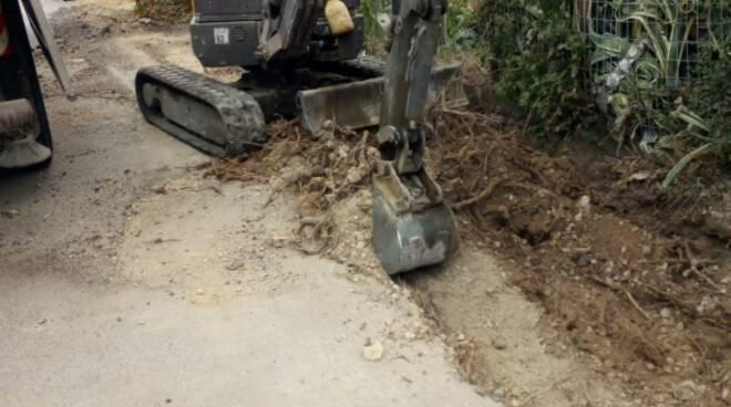 lavori asfalto strade santa maria a monte