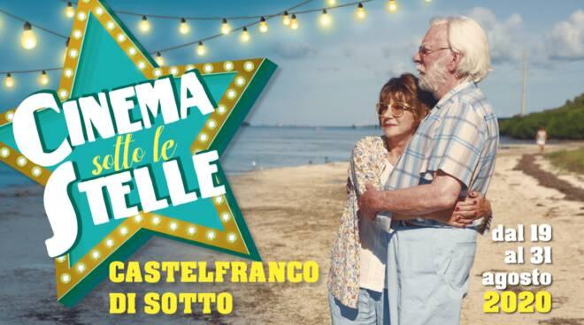 locandina cinema sotto le stelle Castelfranco di Sotto