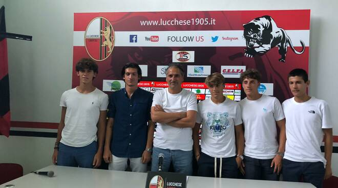 Lucchese conferma under serie C Daniele Deoma