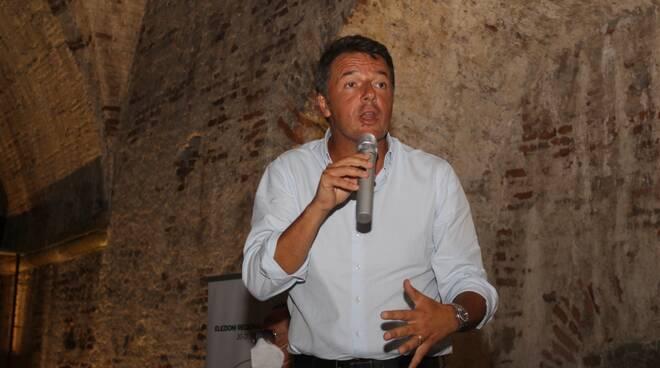 Matteo Renzi a Lucca per Italia Viva