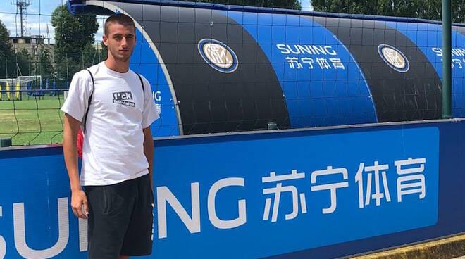 Matteo Silvano centrocampista Tau Calcio Inter Aglianese