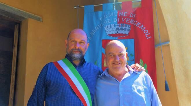 Michele Giannini e Vittorio Giannecchini
