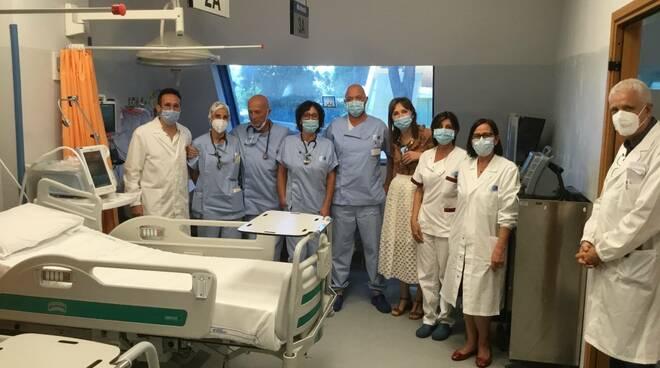 ospedale Versilia posti letto terapia subintensiva pronto soccorso