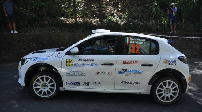 Paolo Andreucci Anna Andreucci rally Ciocco due ruote motrici