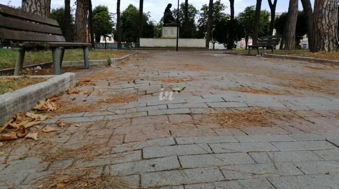 piazza Garibaldi castelfranco di sotto