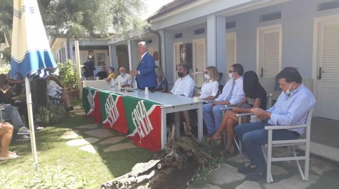 presentazione lista Forza Italia Lucca regionali 2020