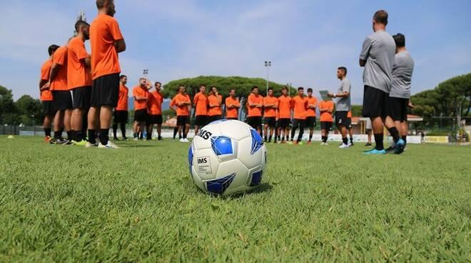 Real Forte Querceta allenamento preparazione