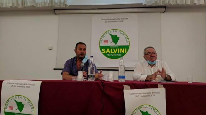 Roberto Salvini incontro pubblico a Viareggio