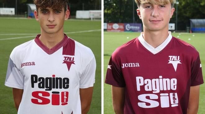 Tommaso Cecilia Mattia Gaddini Tau Calcio
