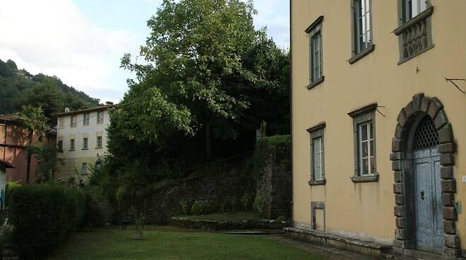 villa Webb Bagni di Lucca giardino