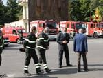 visita prefetto di Pisa comando vigili del fuoco
