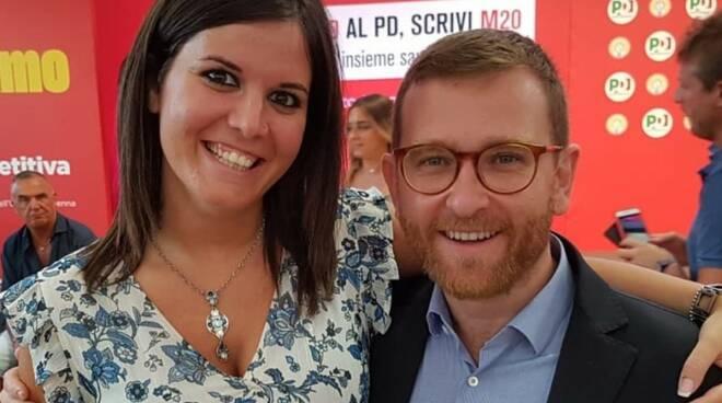 Alessandra Nardini e il ministro Provenzano