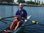 Andrea Tamberi Campione Italiano di canottaggio nella specialità Master