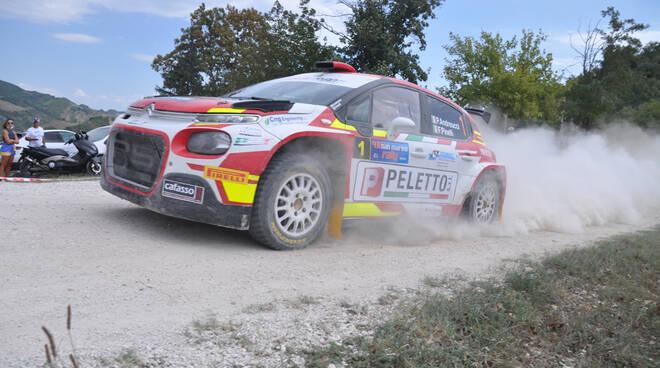 Andreucci Pinelli al Rally di San Marino