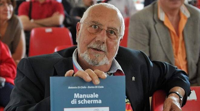 Antonio Di Ciolo campione di scherma pisa morto il 29 settembre 2020