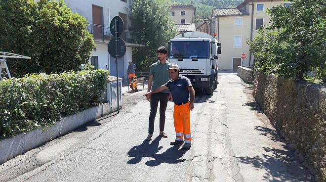 asfalto capannori