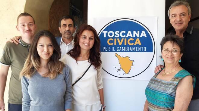 candidati Toscana civica per il cambiamento