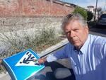 cartelli divelti via Nottolini San Concordio