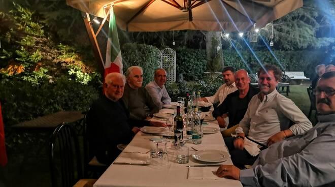 cena Fratelli d'Italia vip Lido Fava