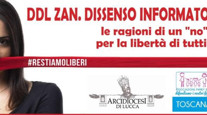 conferenza Ddl Zan arcidiocesi Lucca