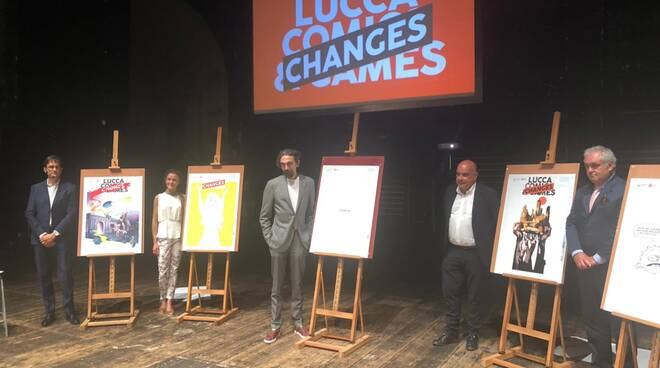 Conferenza stampa Lucca Changes 2020