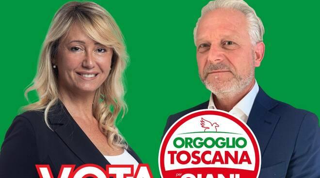 Da Prato e Sommariva Orgoglio Toscana elezioni regionali