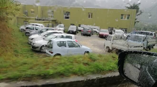 Disagi al parcheggio nuova scuola Borgo