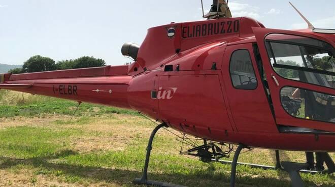 elicotteri e distribuzione enel