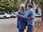 Eugenio Giani a San Miniato dopo la vittoria alle regionali 2020