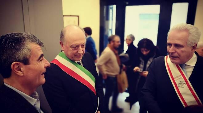 Eugenio Giani Stefano Baccelli Alessandro Tambellini