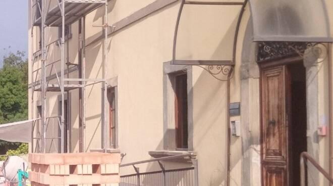 ex scuola Landini Marchiani tenenza dei carabinieri fucecchio