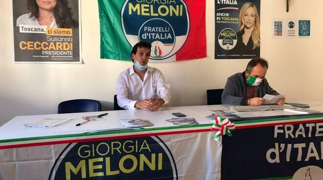 Federico Pavese Vittorio Picchianti Fratelli d'Italia Fucecchio