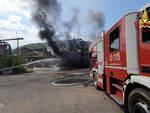 fiamme vigili del fuoco ex Alce Fornoli