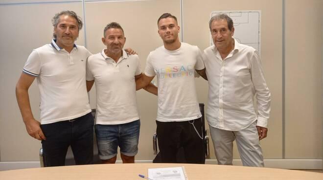 Flavio Bianchi attaccante Lucchese Primavera