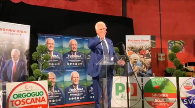 Giani presidente Toscana Pace