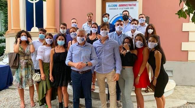 Giovani per Viareggio Marian Puosi elezioni 2020 Viareggio