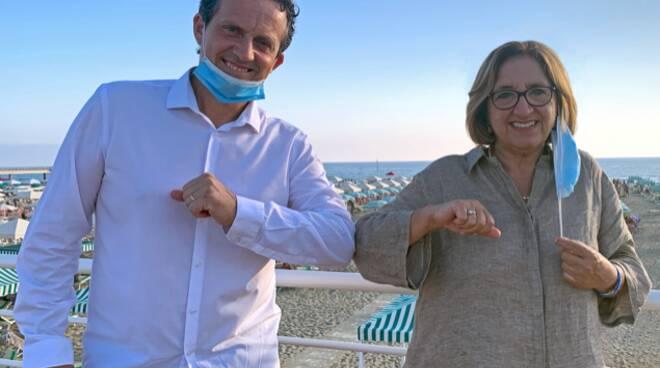 Giuliana Cecchi e Luca Mori Italia viva Europa
