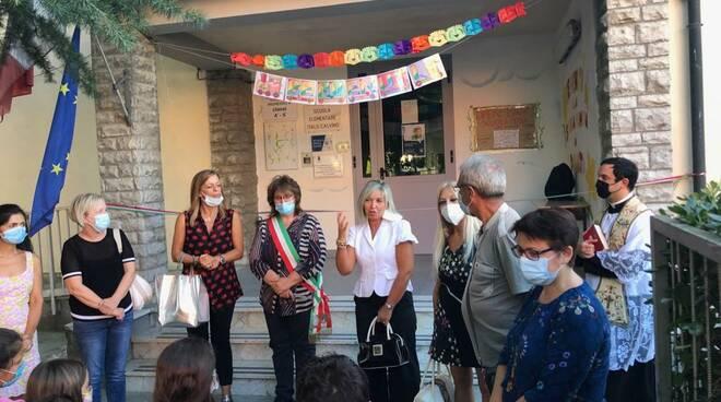 inaugurata la scuola di san donato a santa maria a monte