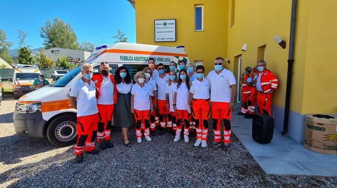 Inaugurazione ambulanza Croce Verde Garfagnana